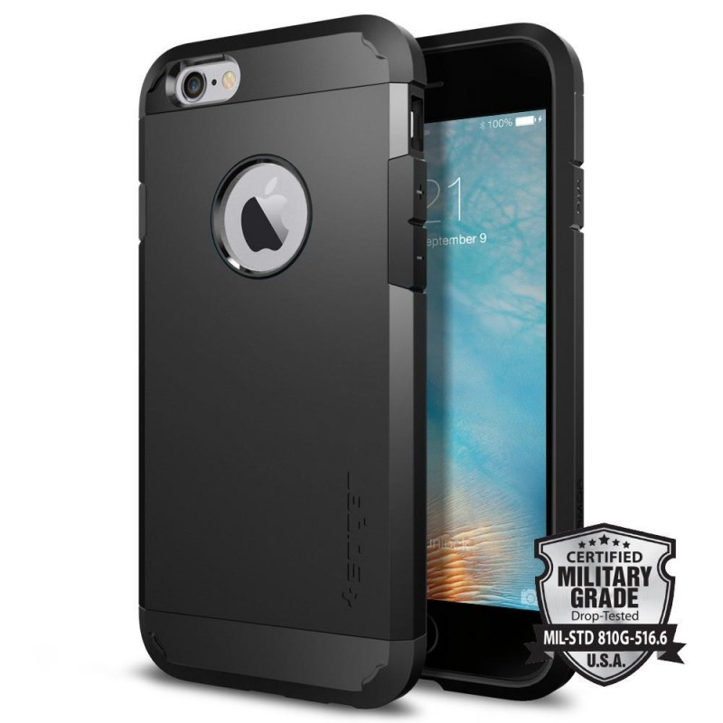 5ea1b0a1ad Sale Genuine Spigen Tough Armor Military Grade Protection Heavy Duty Case  Cover for iPhone 6 6s