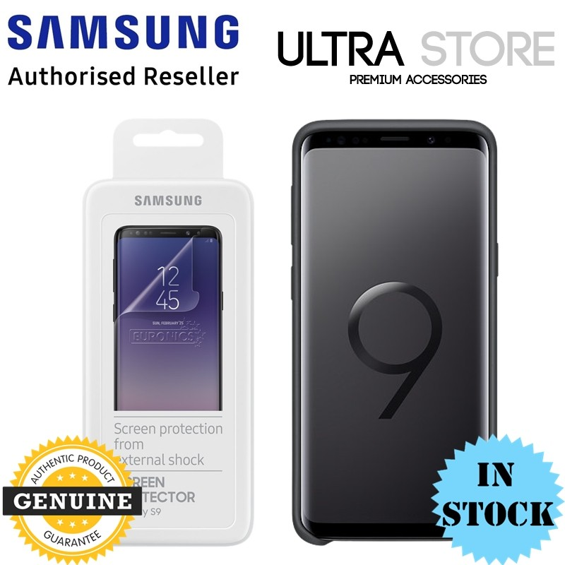 GENUINE Samsung Galaxy S9 S9+ Plus G960 G965 FILM Screen Protector 2 pcs pack