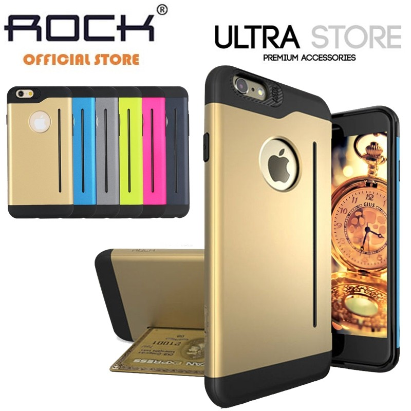 Rock Legend Slim Armor S Dual Layer Standing Case Cover for iPhone 6 6s 6 Plus 6s Plus