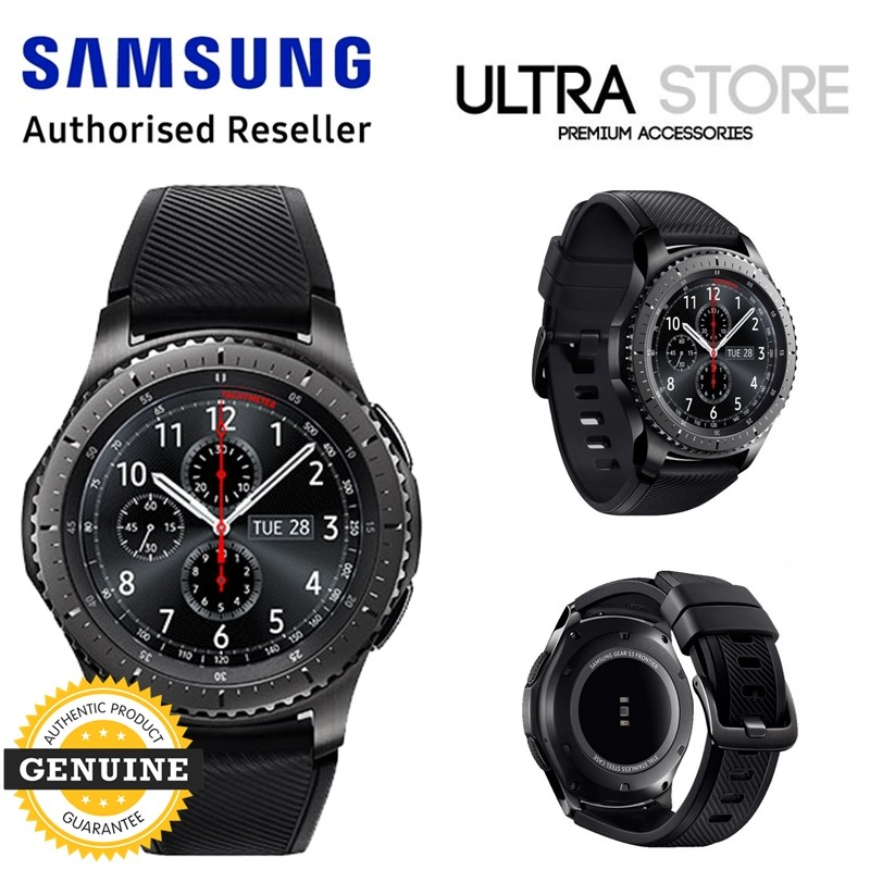 GENUINE Original Samsung Gear S3 Frontier Smartwatch SM-R760
