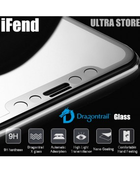 iFend Premium Dragontrail X Glass Full Coverage Screen Protector iPhone X 8 Plus