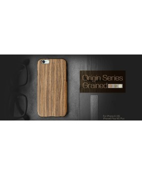 ROCK Origin Wood Slice Dual Layer TPU Case Cover iPhone 6 6s 6 Plus 6s Plus