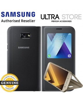 GENUINE Original Samsung Galaxy A5 2017 / A7 2017 S View Standing Cover Flip Case