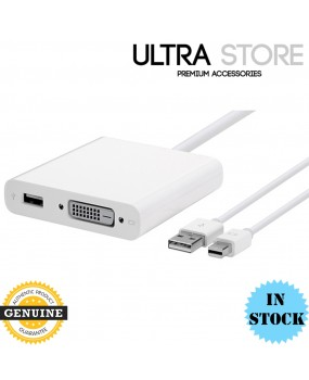 Genuine Apple Mini DisplayPort to Dual-Link DVI Adapter - MB571Z/A