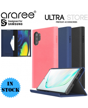 Araree BONNET Stand Card Slot Wallet Cover Case for Samsung Galaxy Note 10 10+