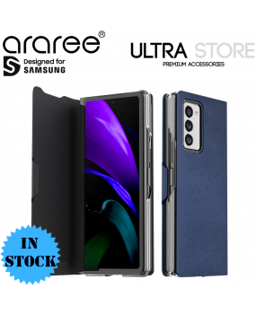 Araree BONNET Leather Protective Flip Cover Case for Samsung Galaxy Z Fold 2