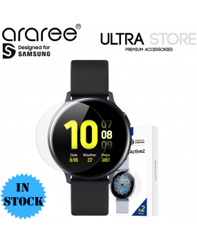Araree Pure Diamond Film Screen Protector 2pc for Samsung Galaxy Watch Active 2