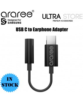 Araree USB Type C to 3.5mm Headphone Adapter Connector Earphone Audio Jack Aux