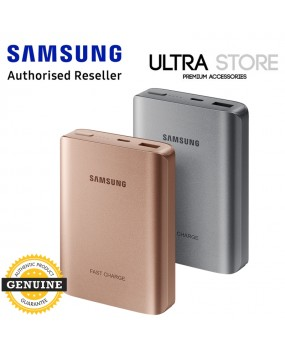 GENUINE Original Samsung AFC Fast Charger USB C Battery Pack Power Bank 10200mAh