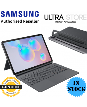 GENUINE Original Samsung Galaxy Tab S6 10.5 Keyboard Book Cover Standing Case