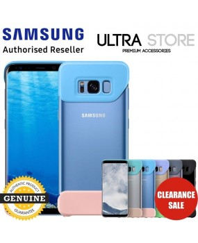 GENUINE Original Samsung Galaxy S8 S8+ Plus 2PIECE Cover Pop Slim Thin Case