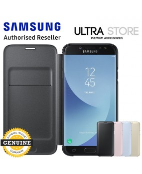 GENUINE Original Samsung Galaxy J5 J7 Pro 2017 Wallet Cover Card Slot Flip Case
