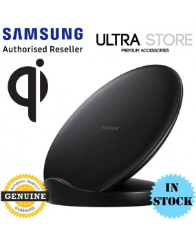GENUINE Original Samsung QI Fast Wireless Charger Stand Pad w TA Galaxy S9 S9+