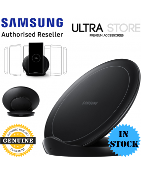 GENUINE Samsung Fast Qi Wireless Charger Pad Stand S20 Ultra Note10 S10 iPhone