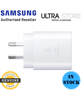 GENUINE Original Samsung 25W USB Type-C Fast Charge Travel Adapter Wall Charger