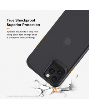 ROCK Guard Pro Hybrid TPU Matte Case Cover for Apple iPhone 11 / 11 Pro / Max