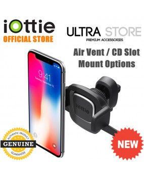 iOttie Easy One Touch 4 Air Vent /  CD Slot Car Mount Phone Holder Dock Cradle