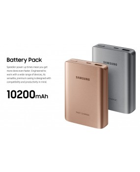 GENUINE Original Samsung AFC Fast Charging USB Type-C Battery Pack Power Bank 10200mAh