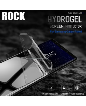 ROCK 3D 0.18mm Full Coverage Flexible Hydrogel Screen Protector Galaxy Note 8