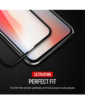 ROCK 4D Tempered Glass Full Coverage Screen Protector Guard for Apple iPhone X