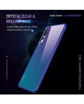 ROCK Clarity Hybrid Drop Protection Slim Cover Case for Huawei P20 / P20 Pro