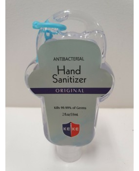 5x KEKE 59ML Instant Hand Sanitiser Gel 75% Ethyl Alcohol Kills 99.99% Germs