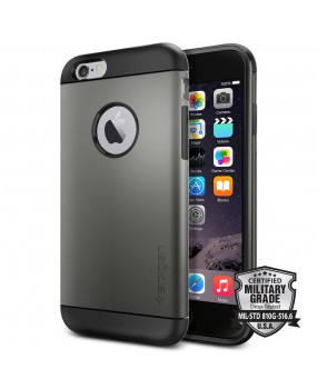 Genuine Spigen Slim Armor Heavy Duty Military Grade Protection Shockproof Case Cover iPhone 6 6s
