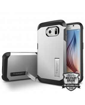 Genuine Spigen Tough Armor Heavy Duty Military Grade Shockproof Case Cover For Samsung Galaxy S6