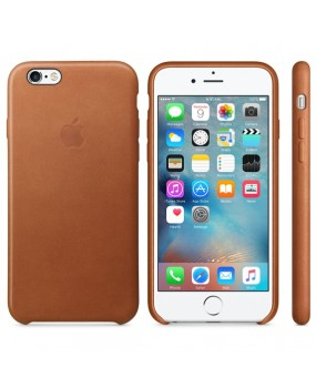 Genuine Original Apple Leather Slim Thin Back Case Cover for iPhone 6 6s 6s Plus