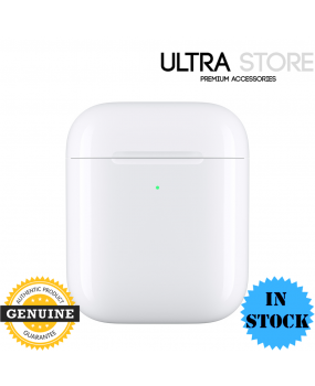 Genuine Apple Wireless Charging Case ONLY for Airpods 1st and 2nd Generation