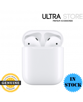 Genuine Apple AirPods (2nd gen) with Charging Case - MV7N2ZA/A