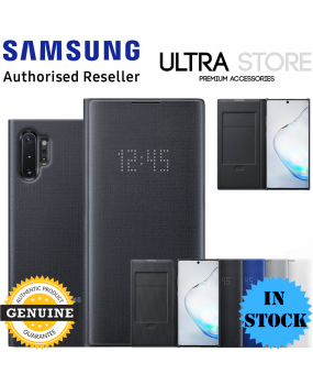 GENUINE Original Samsung Galaxy Note 10 / 10+ Plus 5G LED VIEW Cover Wallet Case