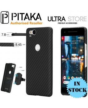 PITAKA Aramid Magnetic Carbon Fibre Thin Slim Matte Case Cover Google Pixel 2 XL