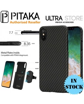 PITAKA Genuine Aramid Magnetic Carbon Fibre Thin Case Cover iPhone 7 8 Plus X