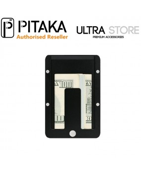 PITAKA MagWallet Aluminum RFID-Blocking Magnetic Slide Slim Money Clip