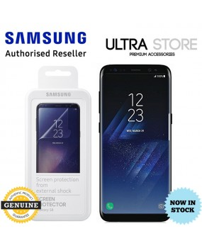 GENUINE Samsung SM-G950 G955 Galaxy S8 S8 Plus FILM Screen Protector 2 pcs pack