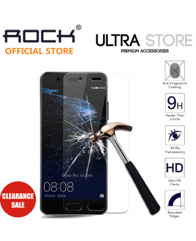 Huawei P10 Screen Protector Rock 0.3mm 2.5D Full Coverage Tempered Glass