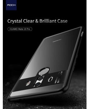 ROCK Clarity Hybrid Drop Protection Hard Cover Case for Huawei Mate 10 / 10 Pro