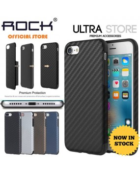 ROCK Origin Carbon Fiber Layer Shockproof TPU Case Cover Apple iPhone 7 7 Plus 8 8 Plus