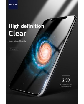 Genuine Rock 2.5D 9H 0.26 0.18mm Tempered Glass Screen Protector Apple iPhone X