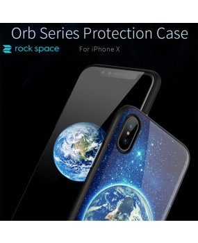 ROCK Orb Hybrid Dual Layer Protection Cover TPU Case For Apple iPhone X / Xs