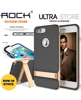 ROCK Royce Hybrid Kickstand Shockproof Case Cover iPhone 7 7 Plus 8 8 Plus