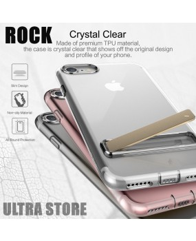 ROCK Dust Proof KICKSTAND Slim TPU Soft Case Cover Apple iPhone 7 7 Plus 8 8 Plus