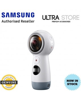GENUINE Original Samsung Gear 360 4K Digital VR Camera (2017) SM-R210 - White