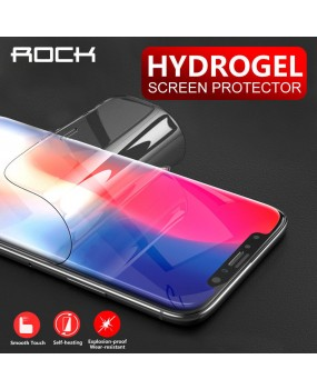 ROCK Hydrogel Full Cover Film Screen Protector 2Pcs Apple iPhone X Xs 11 Pro Max