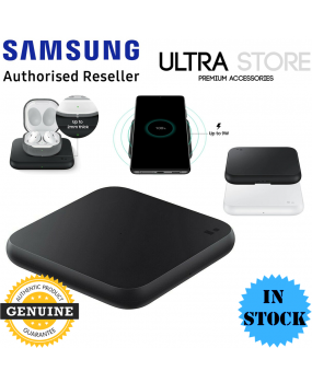 GENUINE Samsung Fast Qi Wireless Charger Pad Galaxy S21 Note 20 Buds iPhone