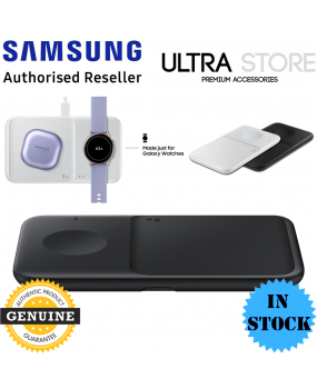 GENUINE Samsung Fast Qi Wireless Charger Duo Pad Galaxy S21 Note 20 Buds iPhone