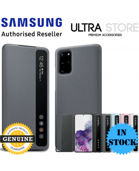 GENUINE Original Samsung Galaxy S20 S20+ S20 Ultra CLEAR VIEW Cover Flip Case