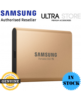 GENUINE Samsung T5 Portable SSD 1TB 540MB/S USB 3.1 Gen 2 USB Type C - Rose Gold