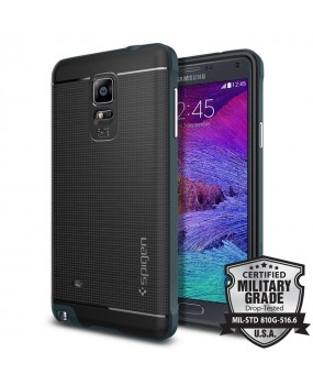 Genuine Spigen Neo Hybrid Military Grade Case Cover For Samsung Galaxy Note 4